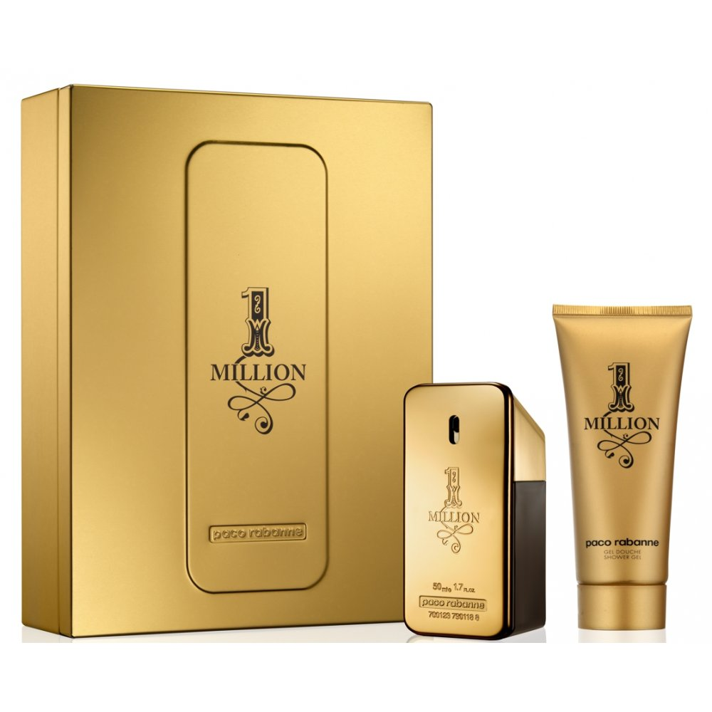 paco rabanne 1 million eau de toilette 50ml shower gel
