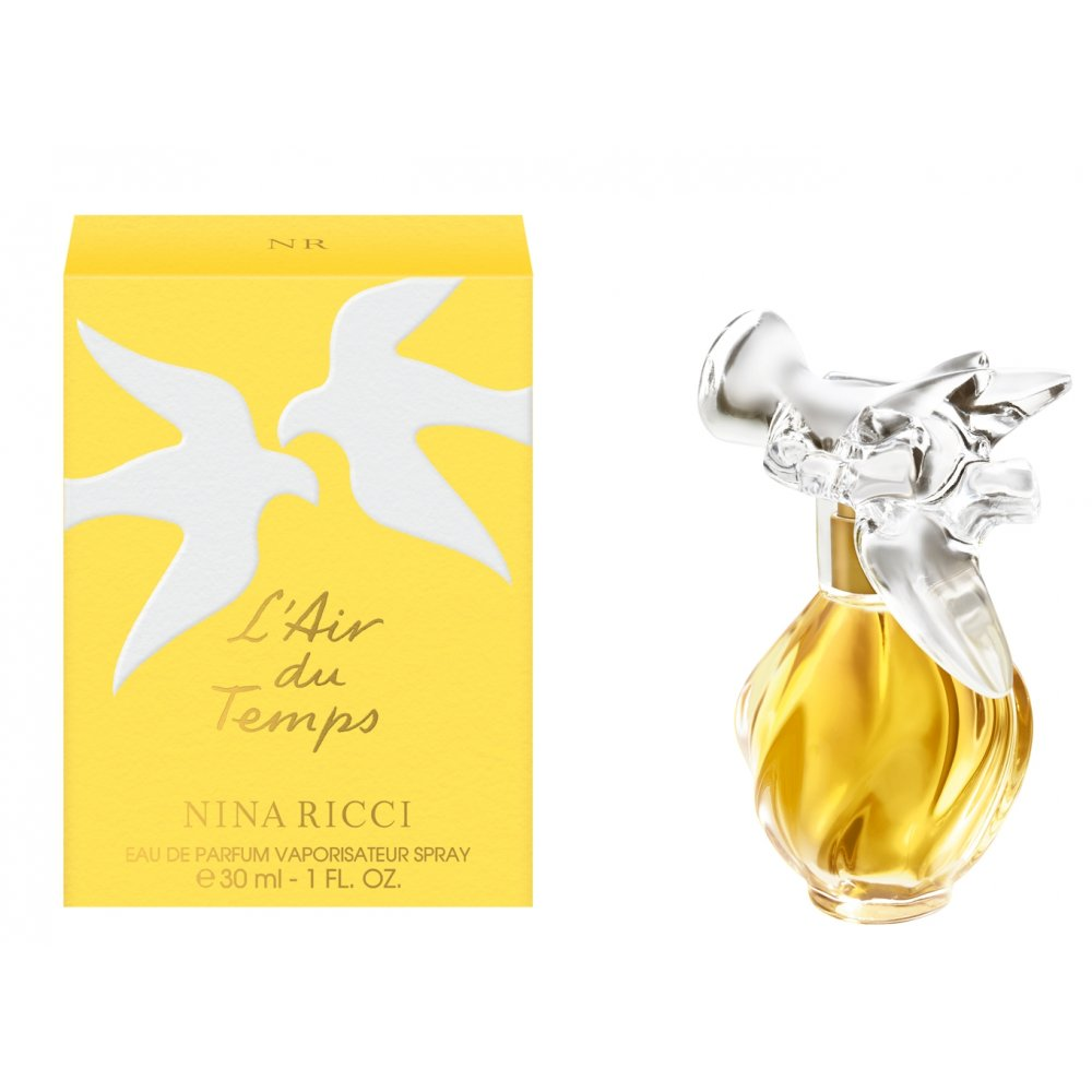 nina ricci l 39 air du temps eau de parfum 30ml spray nina. Black Bedroom Furniture Sets. Home Design Ideas