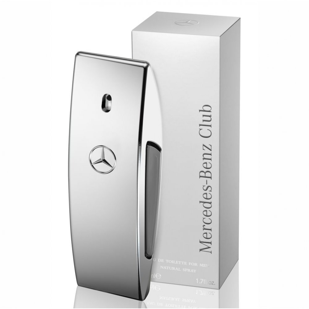 Mercedes benz mercedes benz club eau de toilette 50ml for Mercedes benz club cologne