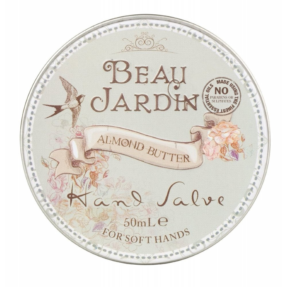 Beau jardin almond butter hand salve 50ml for Beau jardin bath rocks