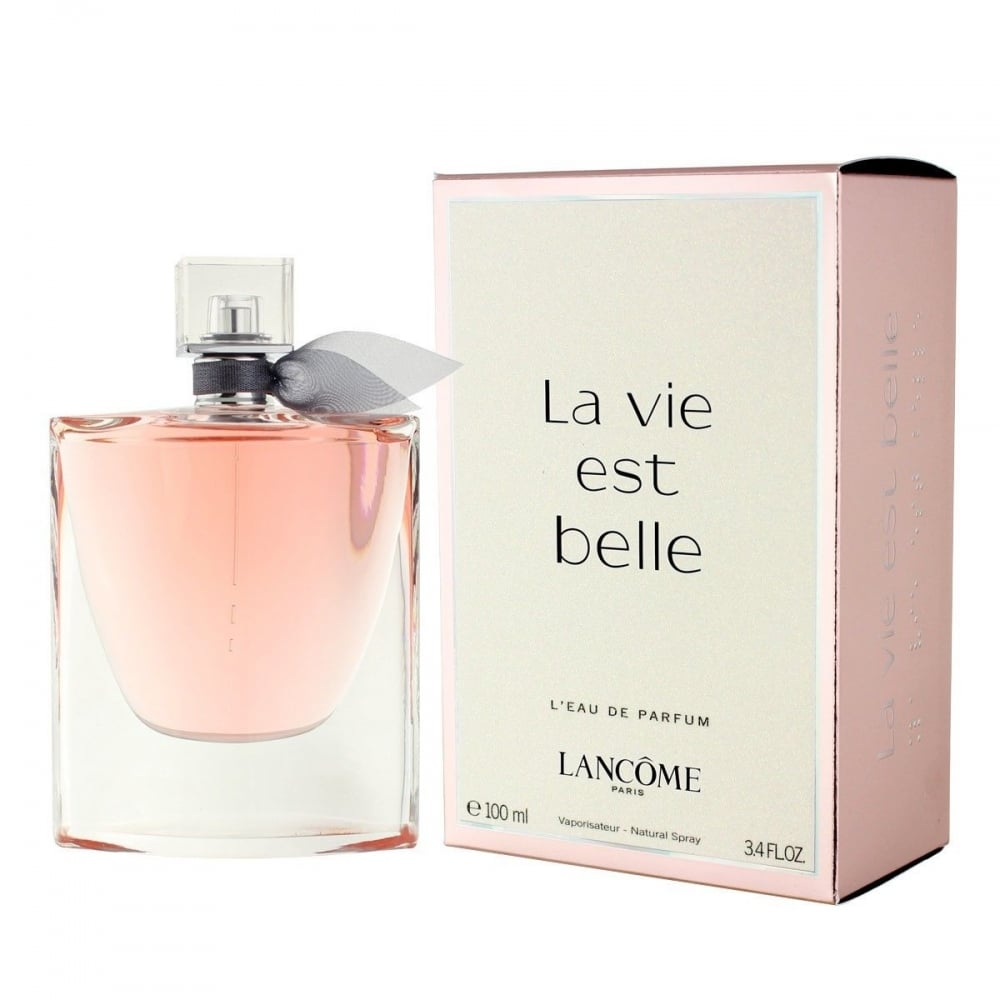 lancome la vie est belle eau de parfum 100ml spray. Black Bedroom Furniture Sets. Home Design Ideas
