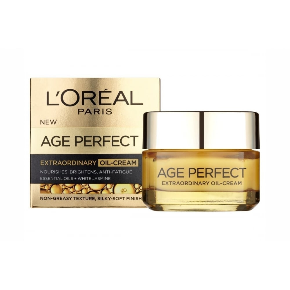 L'oreal L'oreal Age Perfect Extraordinary Oil Nourishing Oil-Cream 50ml - L'oreal from Beauty ...