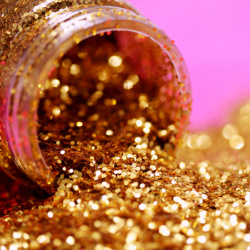 Christmas party glitter