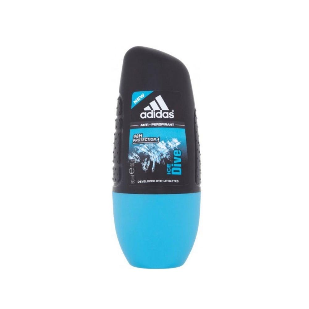 Adidas Ice Dive Fragranced Deodorant Alc Free 50ml Roll On
