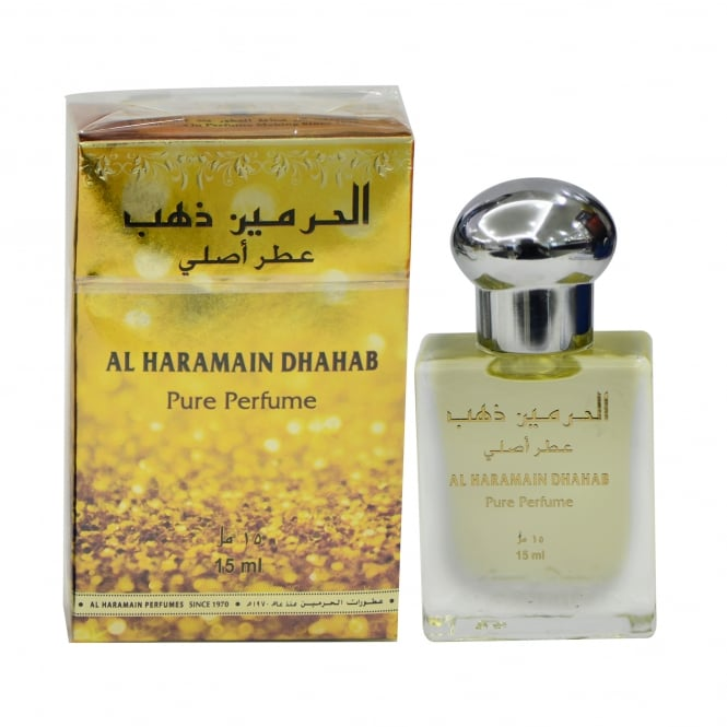 Al Haramain Dhahab Perfumed Oil 15ml Bottle