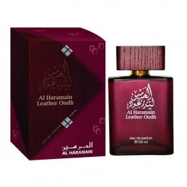 Al Haramain Leather Oudh Eau De Parfum 100ml Spray