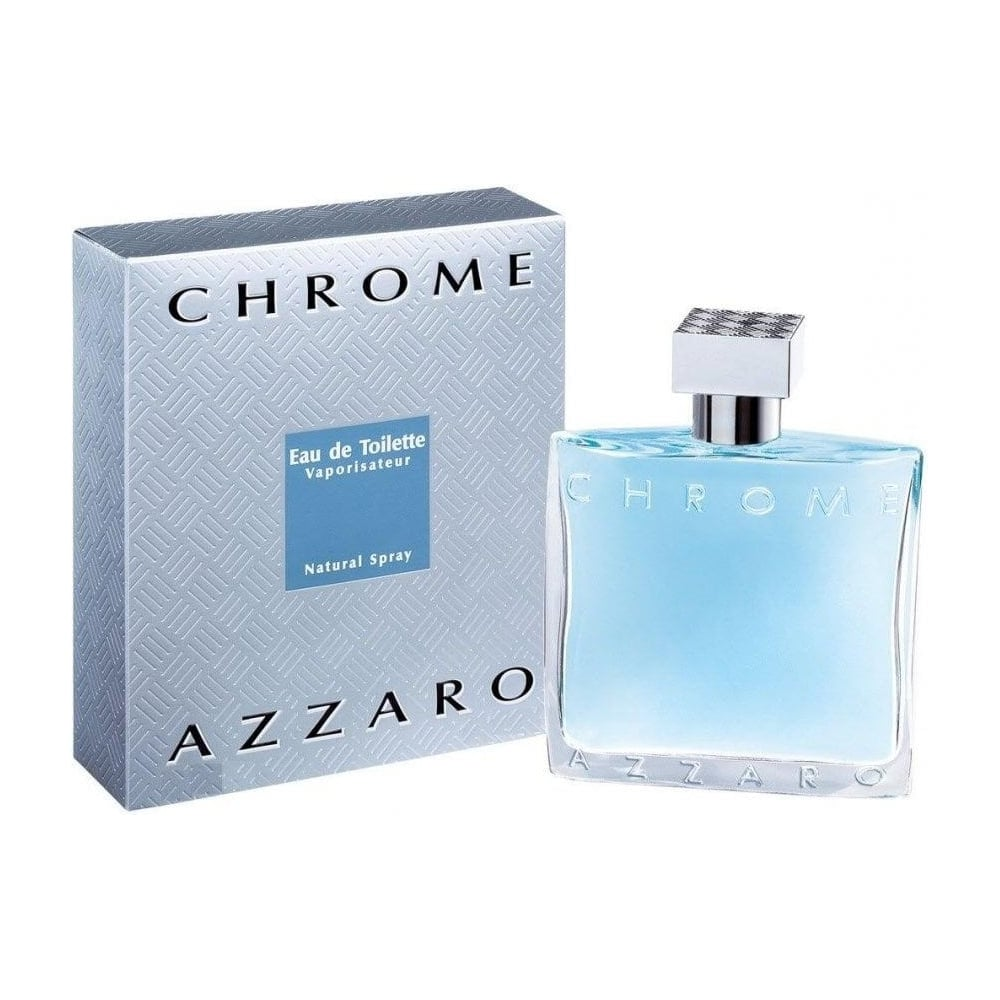 Azzaro chrome eau de toilette 100ml spray mens from for Chrome azzaro perfume