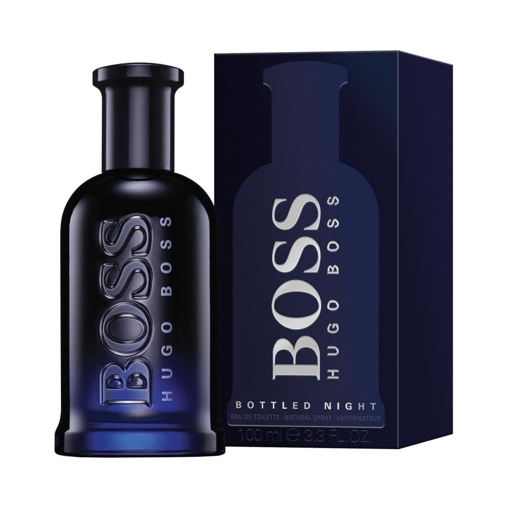 boss bottled night eau de toilette 100ml spray mens from. Black Bedroom Furniture Sets. Home Design Ideas