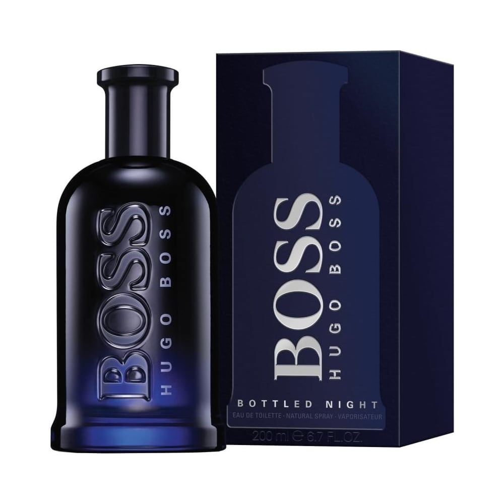 boss bottled night eau de toilette 200ml spray mens from. Black Bedroom Furniture Sets. Home Design Ideas