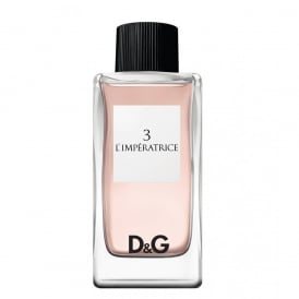DOLCE&GABBANA D&G 3 - Limperatrice Eau De Toilette 100ml Spray