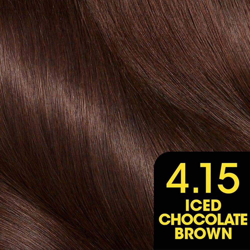 Garnier Olia Permanent Hair Dye 4 15 Iced Chocolate