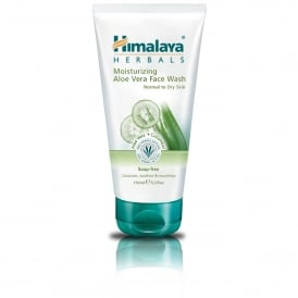 Himalaya Moisturizing Aloe Vera Face Wash 150ml Tube