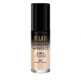 Milani Conceal + Perfect 2in1 Foundation - 01 Creamy Vanilla