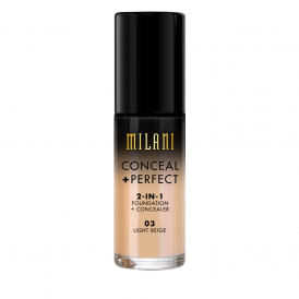 Milani Conceal + Perfect 2in1 Foundation - 03 Light Beige