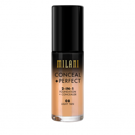 Milani Conceal + Perfect 2in1 Foundation - 08 Light Tan