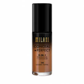 Milani Conceal + Perfect 2in1 Foundation - 14 Golden Toffee