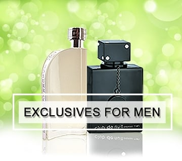 exclusives for men