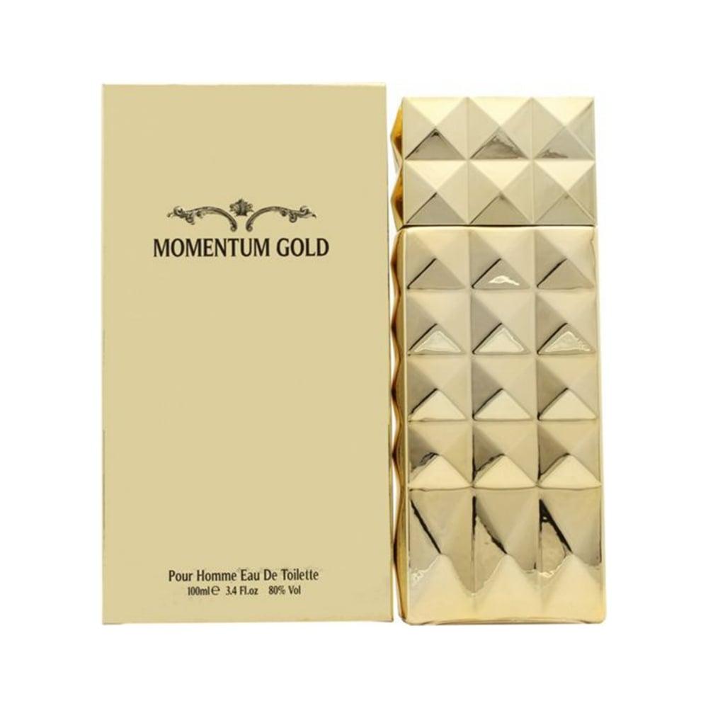 Momentum Gold Eau De Toilette 100ml Spray Mens From Beauty Base Uk