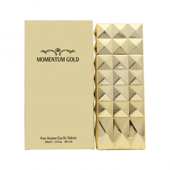 Momentum Gold Eau De Toilette 100ml Spray