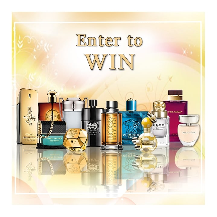 Win Top Designer Fragrance Collection worth £700