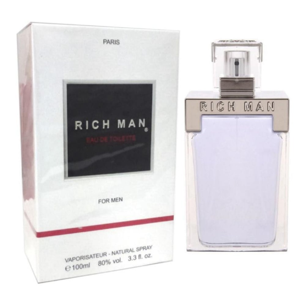 Rich Man Eau De Toilette 100ml Spray