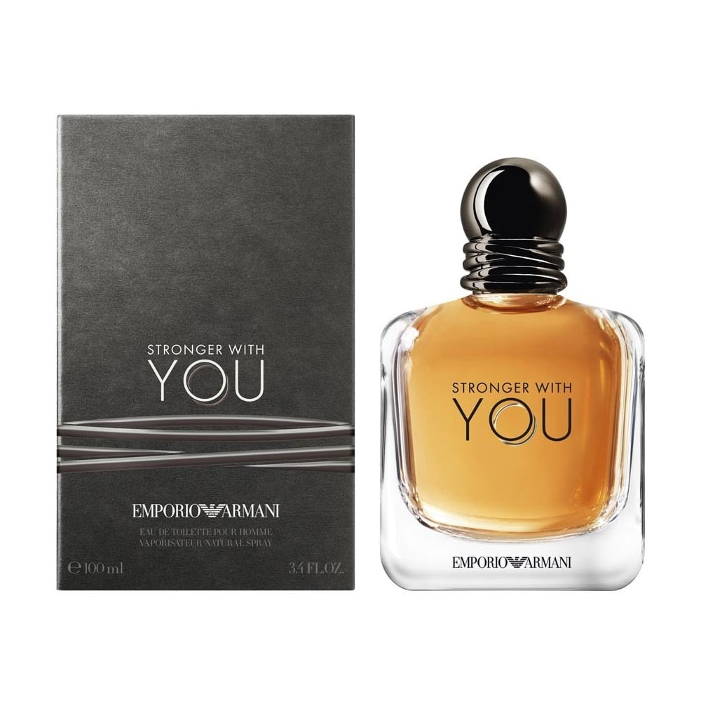 Emporio Armani Stronger With You Eau De Toilette 100ml Spray