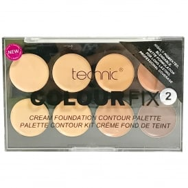 Technic Colour Fix 2 Colour Cream Foundation Contour Palette