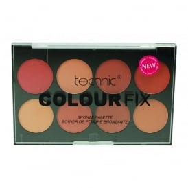 Technic Colour Fix 8 Colour Bronze Eyeshadow Palette