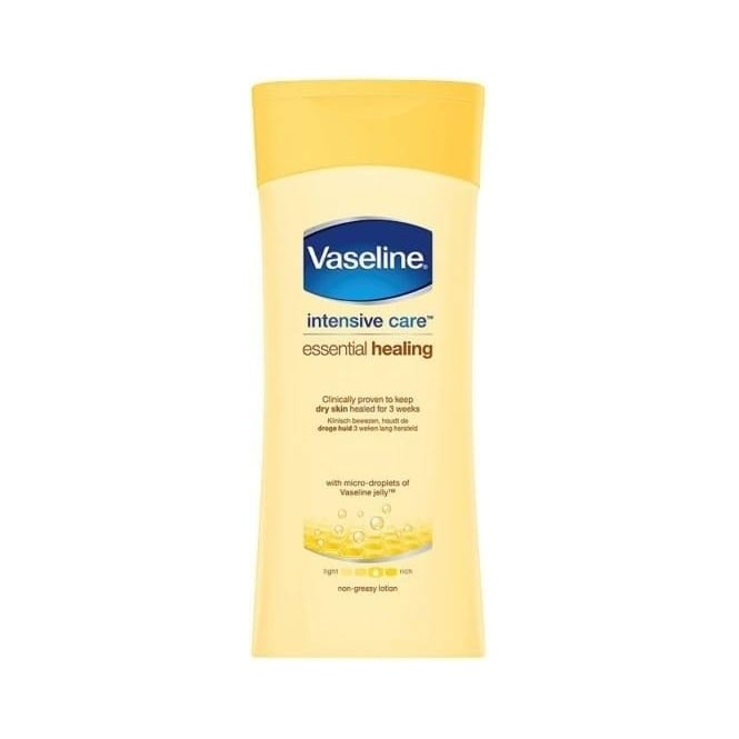 Vaseline Intensive Care Essential Healing Lotion 200ml Bottle