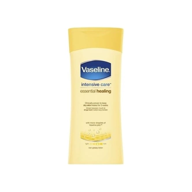 Vaseline Intensive Care Essential Healing Lotion 400ml Bottle