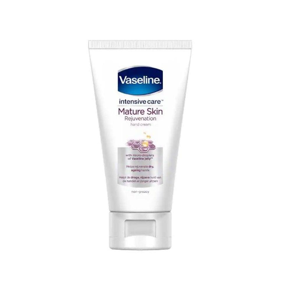 Vaseline Intensive Care Mature Skin Rejuvenation Hand Cream 75ml Tube