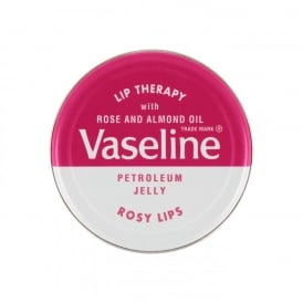 Vaseline Rosy Lip Therapy Petroleum Jelly Rose & Almond 20g
